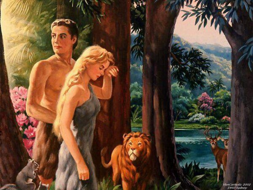 The story of Adam and Eve: